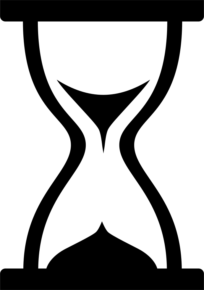 hourglass timer loading svg png icon free download   1582