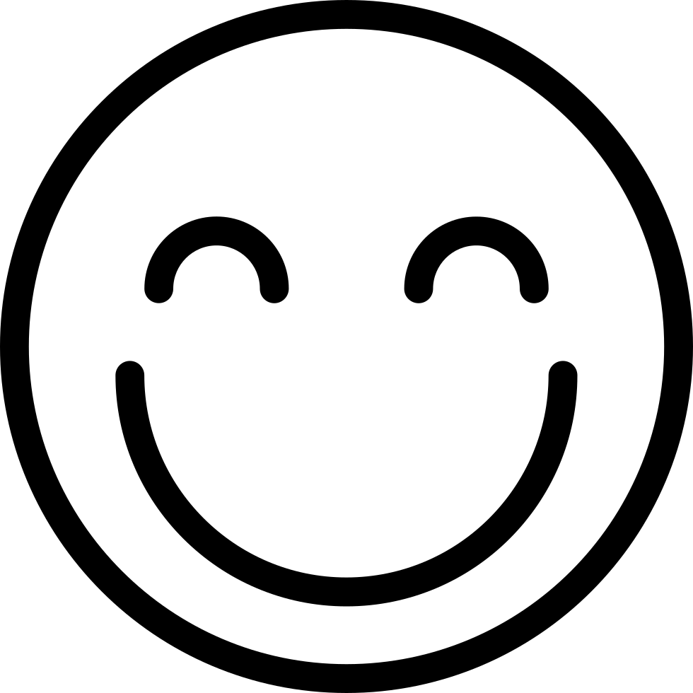 Happy Smiley Streamline Svg Png Icon Free Download ...