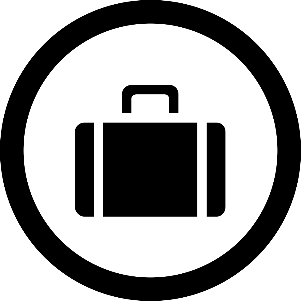 bag in a circle svg png icon free download 17091 onlinewebfonts com