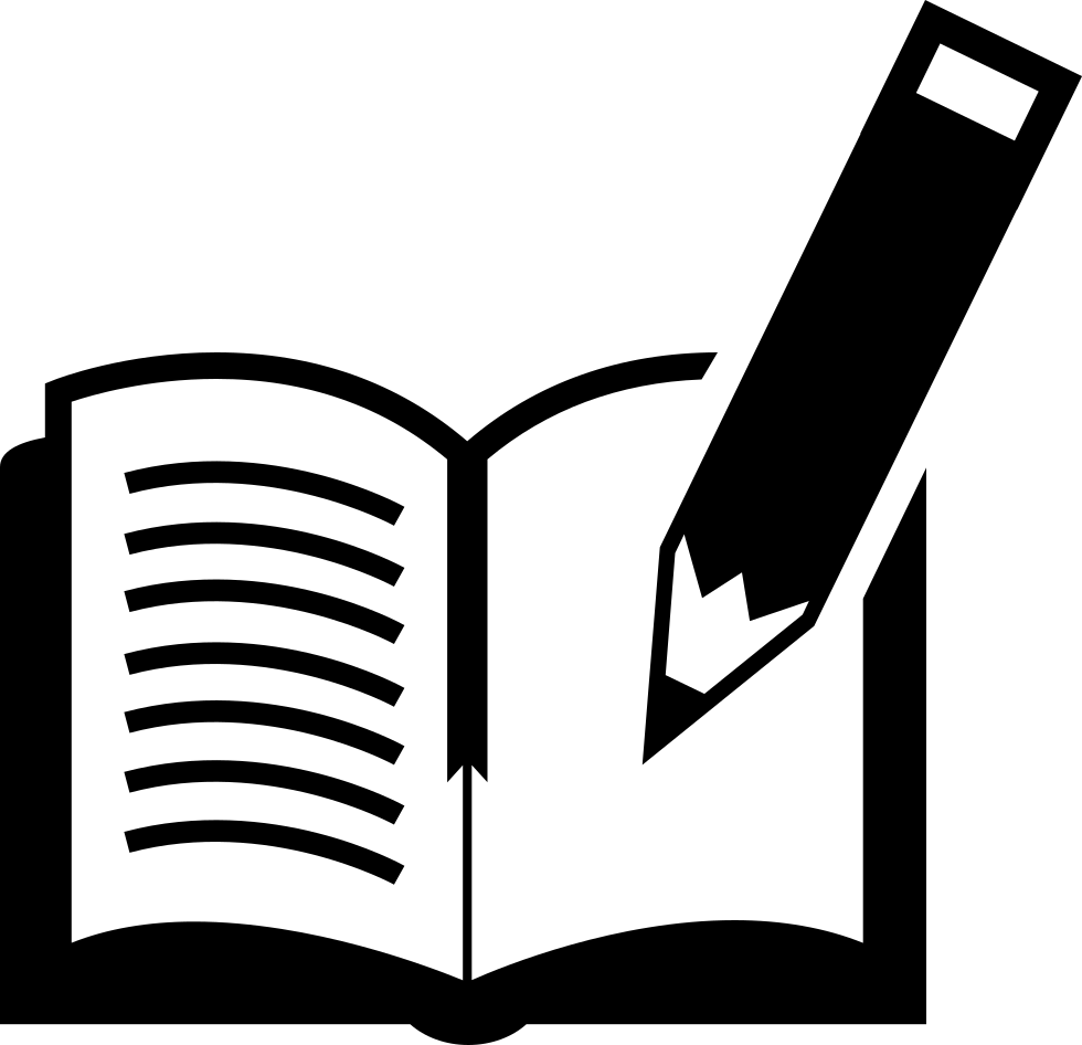 Book And Pen Svg Png Icon Free Download 17660