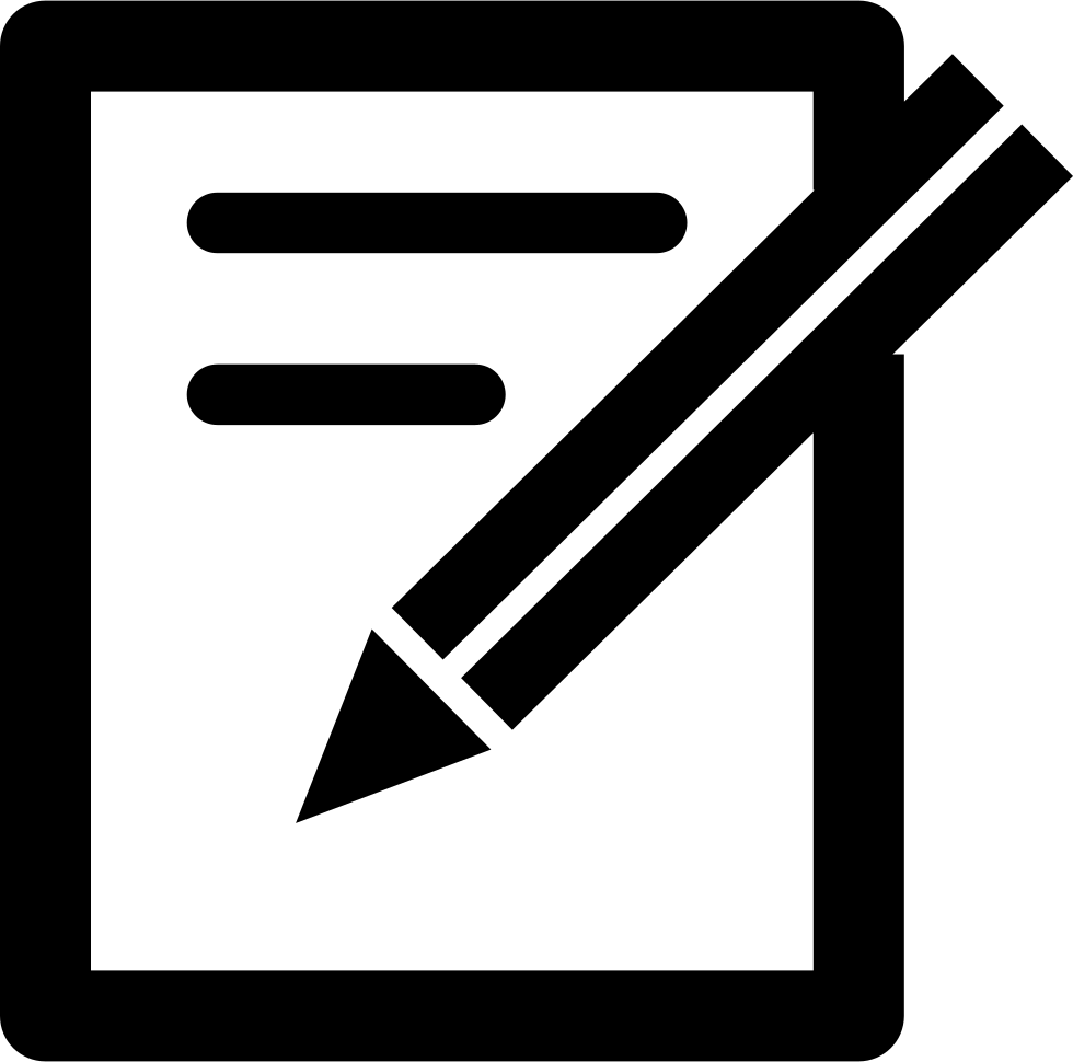 Pen Paper Icon Png