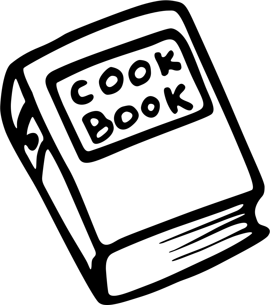 Recipes Cooking Book Svg Png Icon Free Download (18630
