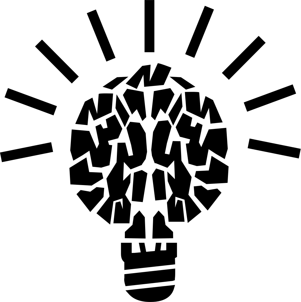 Light Brain Education Symbol Svg Png Icon Free Download (#18768 ...