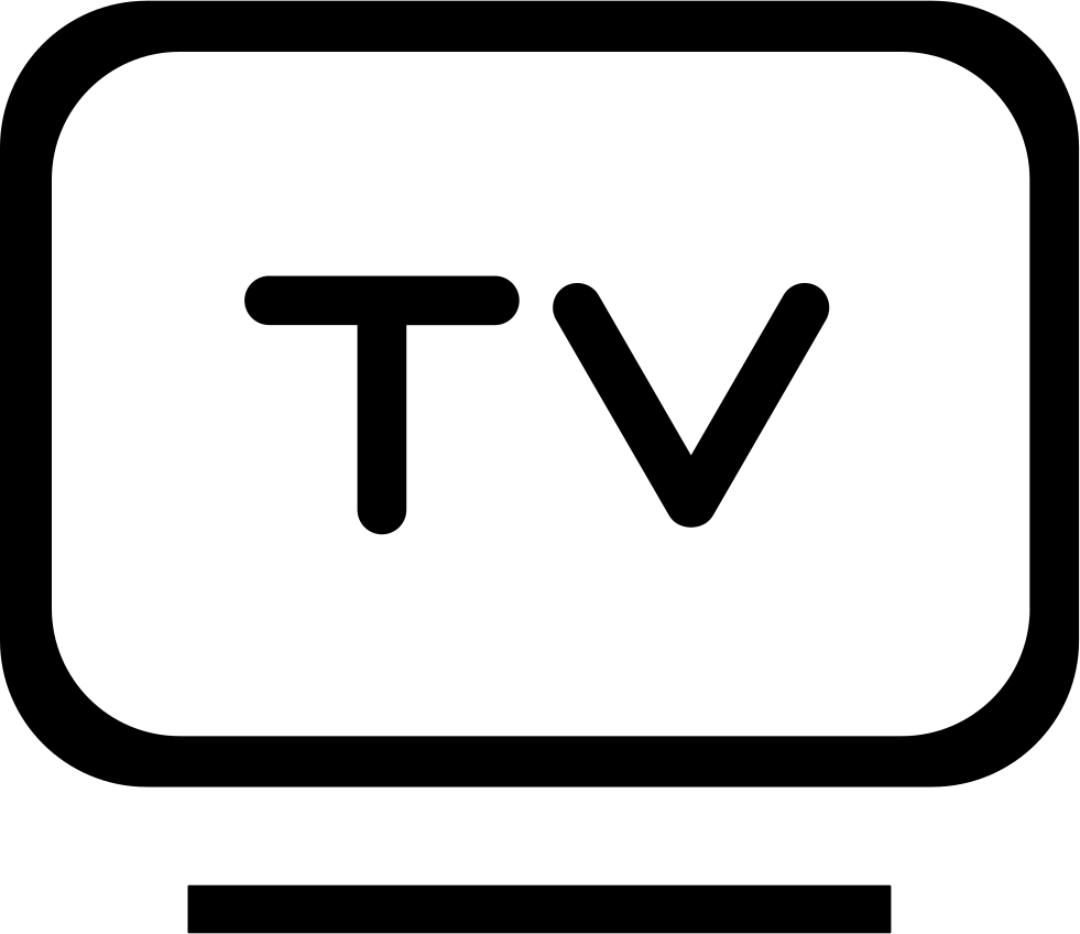 Flat Panel TV Svg Png Icon Free Download (#192341 ...