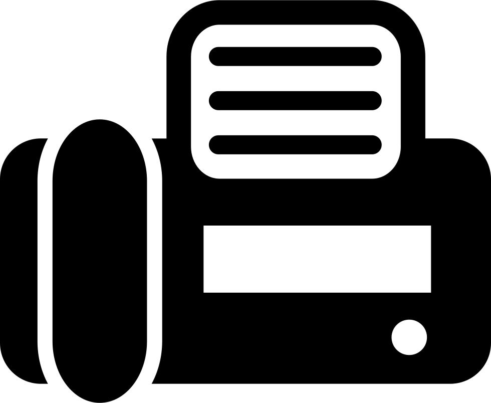 Fax Top View Svg Png Icon Free Download (#19411