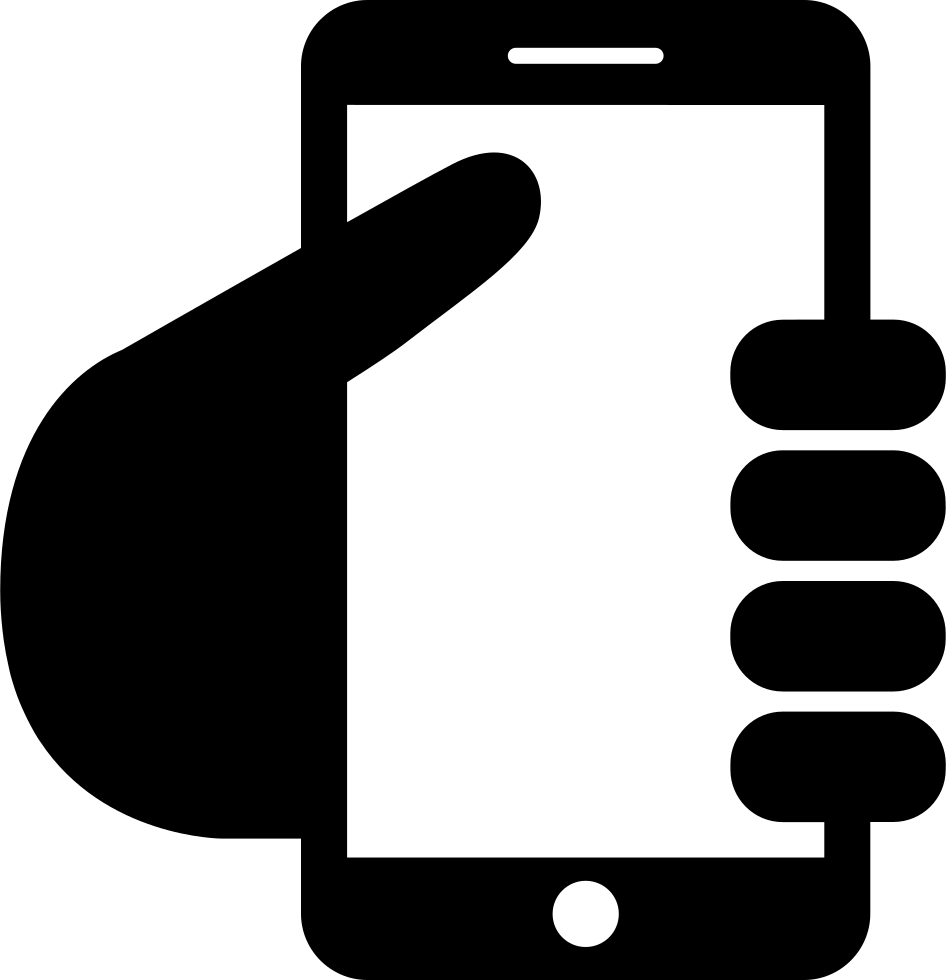 Hand Graving Smartphone Svg Png Icon Free Download (#19483 ...