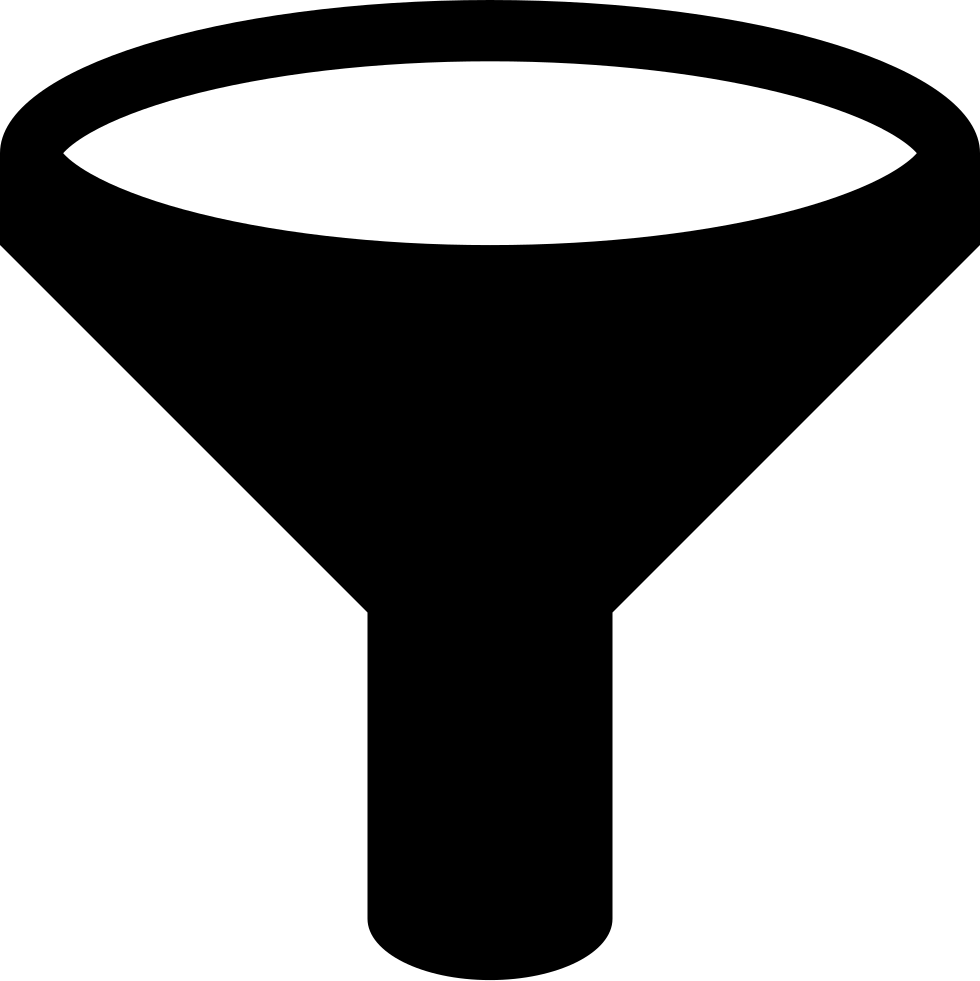 Filter Funnel Svg Png Icon Free Download 1963
