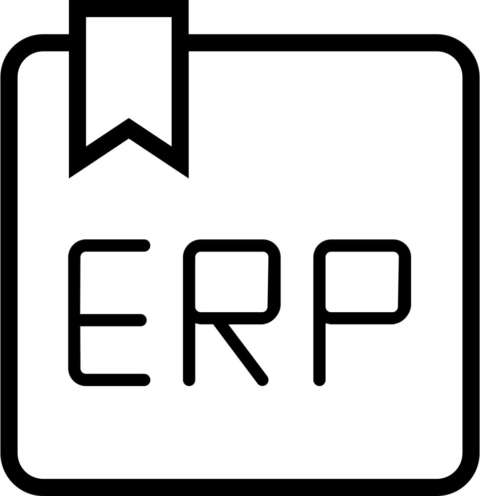 book erp svg png icon free download 196949 onlinewebfonts com