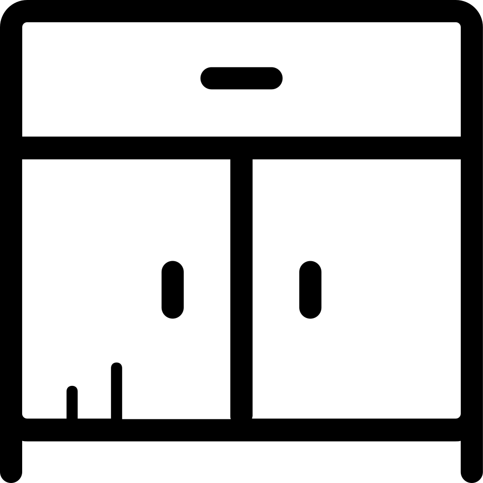 Kitchen Cabinet Svg Png Icon Free Download (#197684