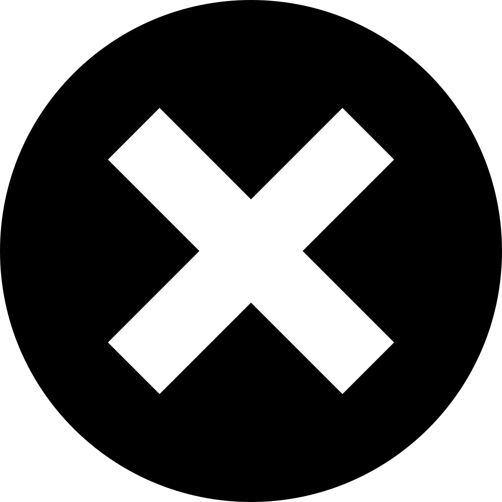 x button svg png icon free download   20085