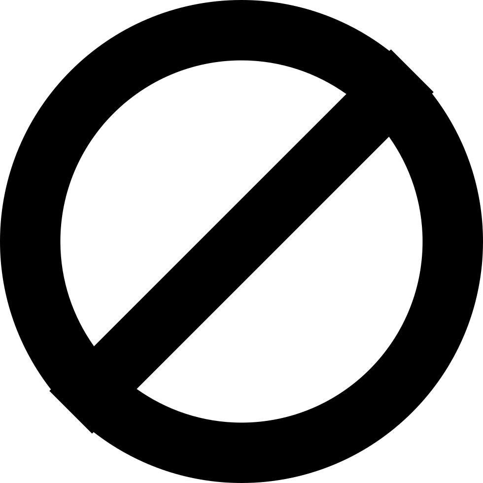 no access svg png icon free download   209481