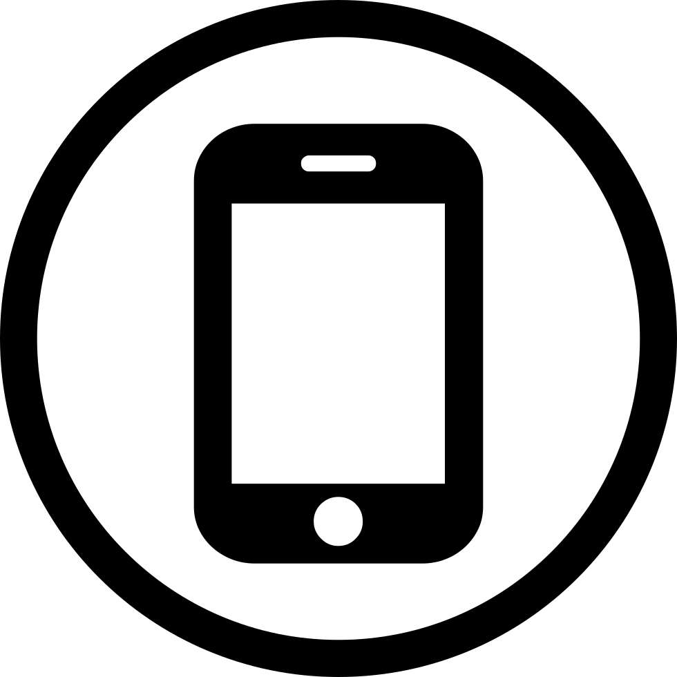 Mobile Phone Hall Svg Png Icon Free Download   210480