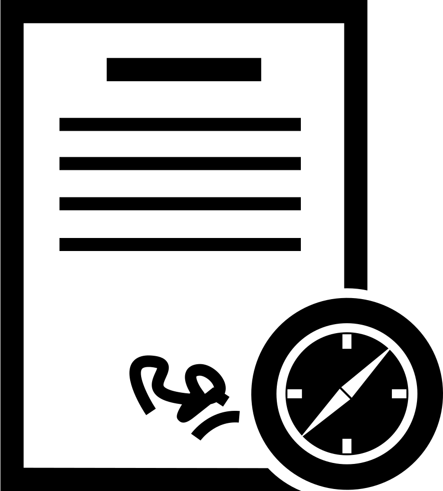 Contract Supervision Index Svg Png Icon Free Download