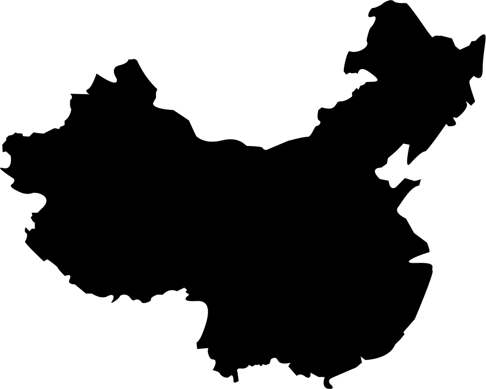 Map Of China Svg Png Icon Free Download (#218433