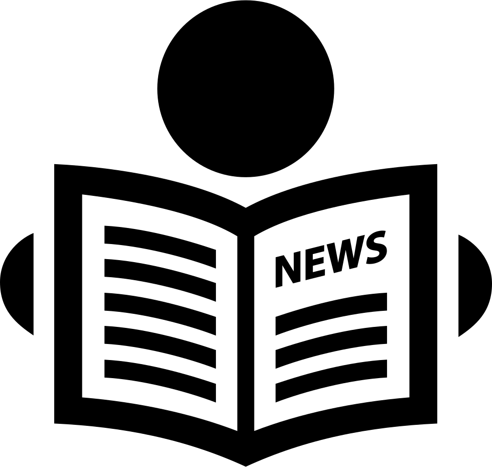 newspaper svg png icon free download (#224040) - onlinewebfonts