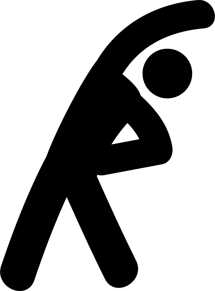 stretching exercises svg png icon free download   22930