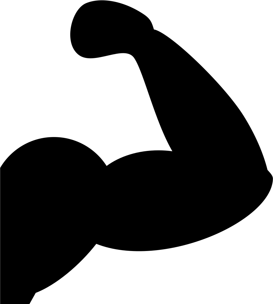Muscle icon png