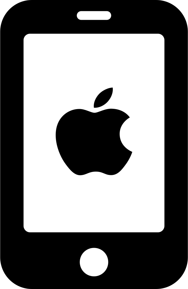 Quiet Apple Phone Svg Png Icon Free Download (#236282