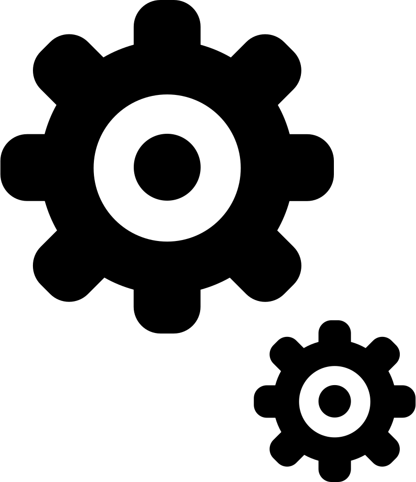 Cogs Settings Gears Options Generate Svg Png Icon Free