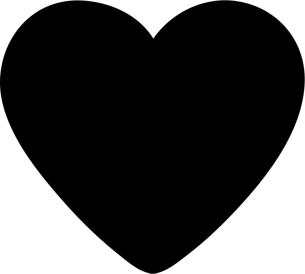 Heart Solid Svg Png Icon Free Download (#254377 ...