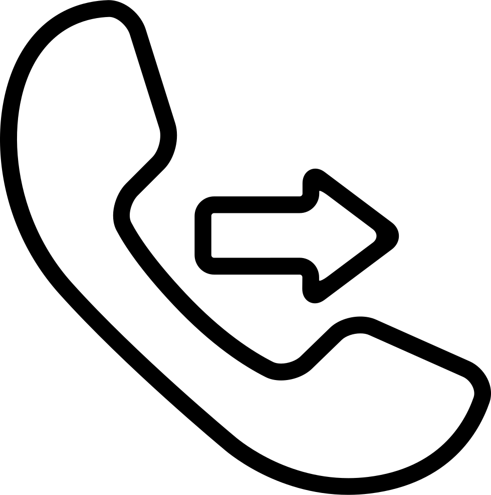 Outgoing Call Symbol Svg Png Icon Free Download (#26398 ...