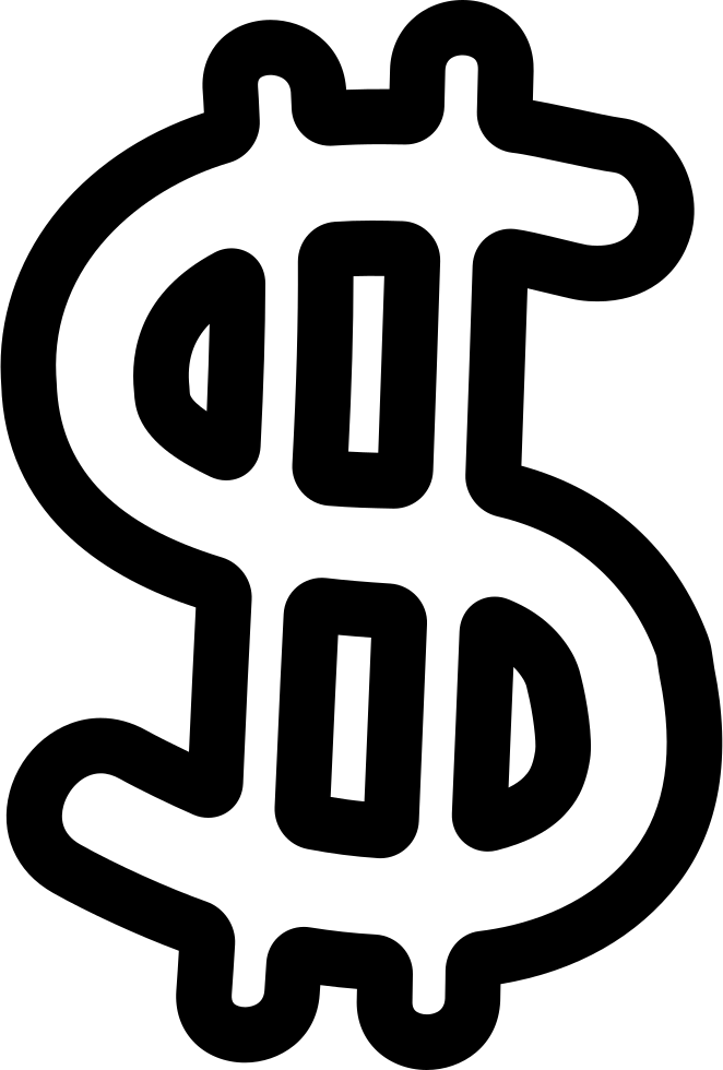 Money Symbol Hand Drawn Outline Svg Png Icon Free Download ...
