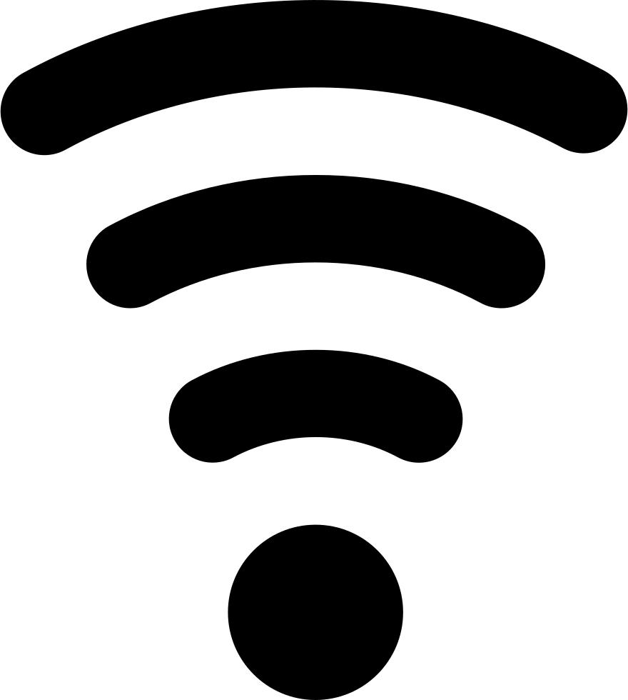 Wifi Low Signal Symbol For Interface Svg Png Icon Free Download