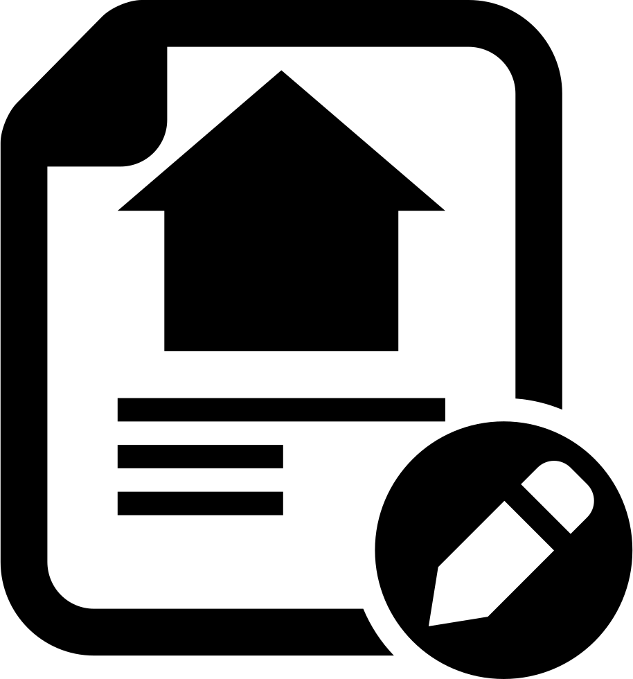 agreement lease svg png icon free download   276610
