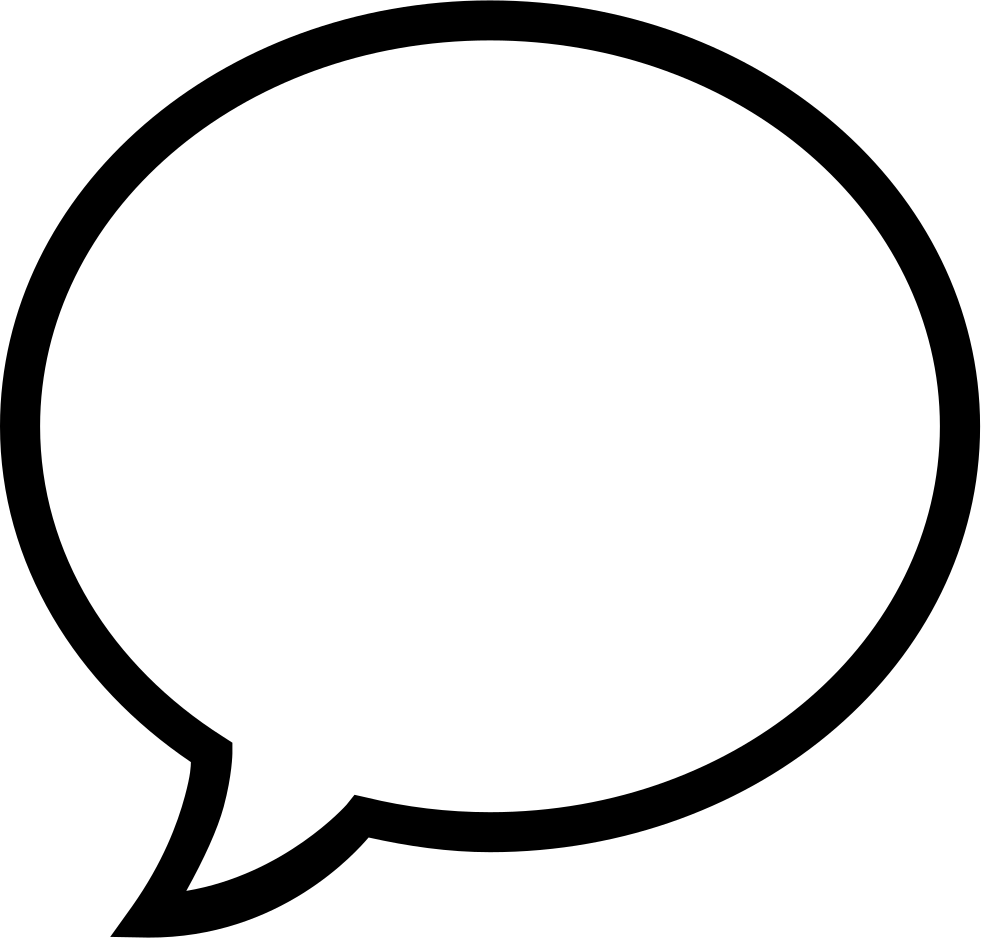 Speech Bubble Svg Png Icon Free Download (#278230 ...