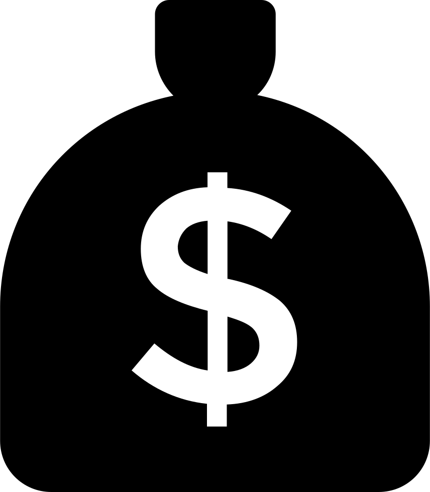 money bag with dollar sign svg png icon free download