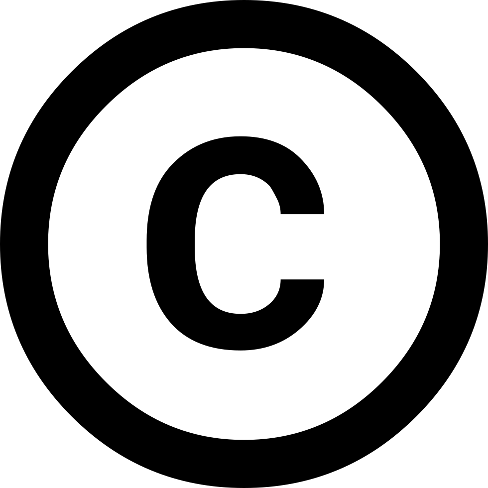 Copyright Svg Png Icon Free Download (#2932) - OnlineWebFonts.COM