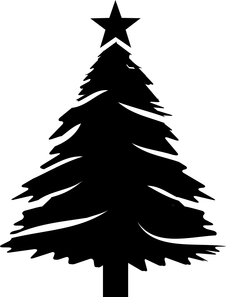 Christmas Tree Svg Free Download.Christmas Tree With Star Svg Png Icon Free Download 29616