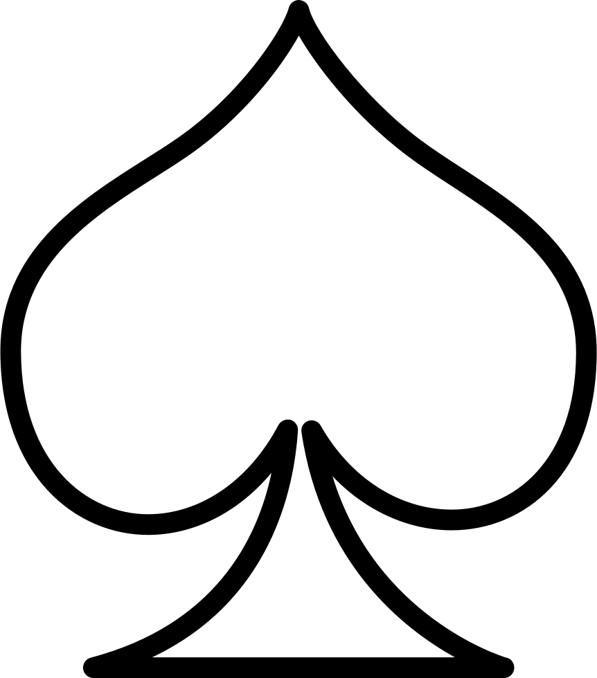 spades svg png icon free download   30499