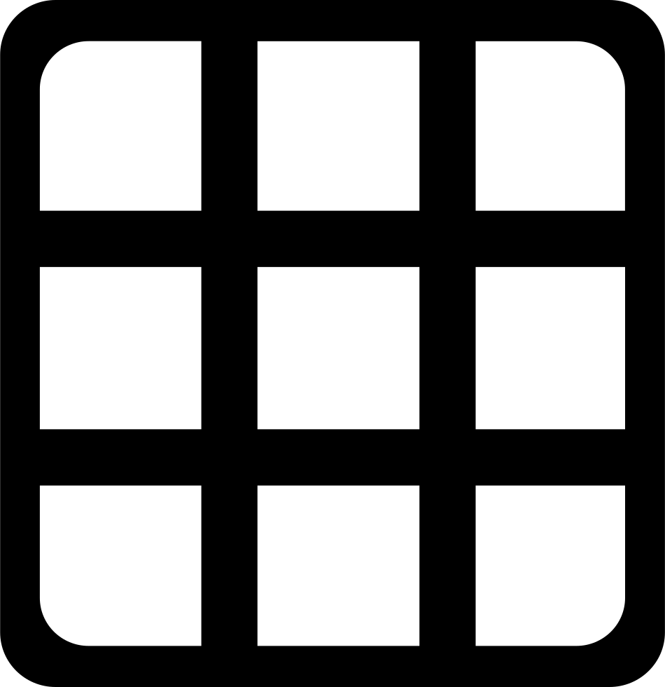 Square Grid Svg Png Icon Free Download (#30863) - OnlineWebFonts COM