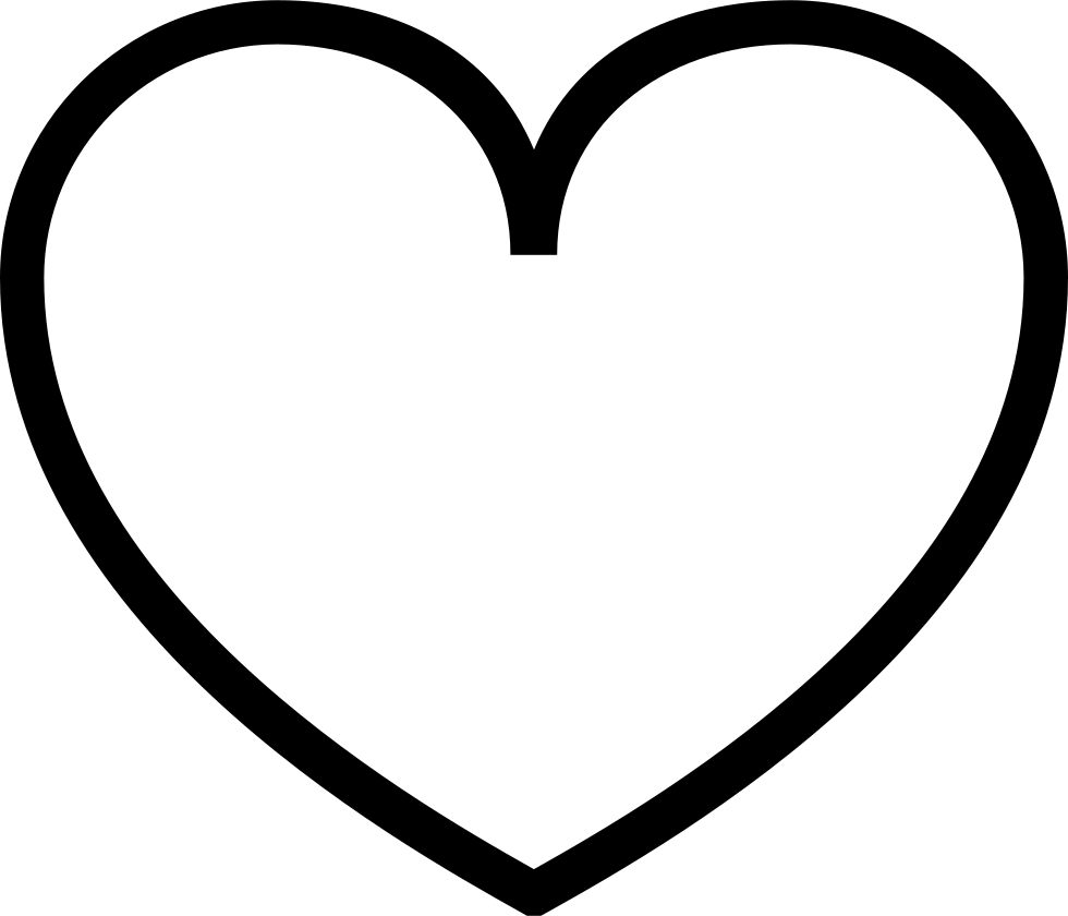 Svg Peach Heart Empty Svg Png Icon Free Download 309380 Onlinewebfonts Com