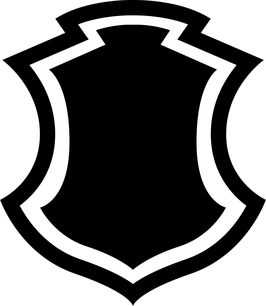 Shield Shape With Border Svg Png Icon Free Download ...