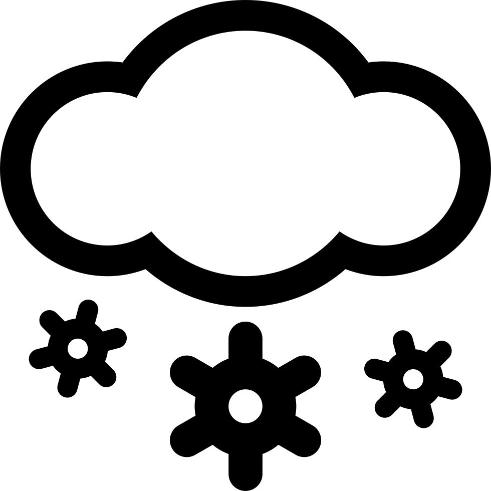 Heavy Snow Svg Png Icon Free Download (#336764 ...