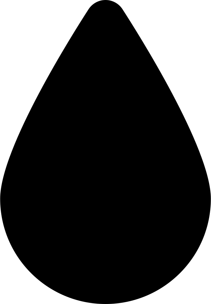 Water Drop Black Shape Svg Png Icon Free Download (#33755 ...