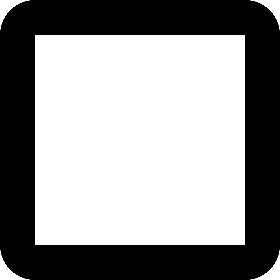 Checkbox Unchecked Checkbox Unchecked Square Svg Png Icon Free