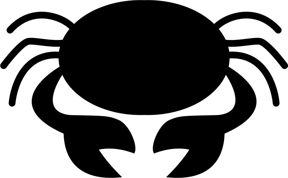Crab Symbol For Zodiac Cancer Sign Svg Png Icon Free Download