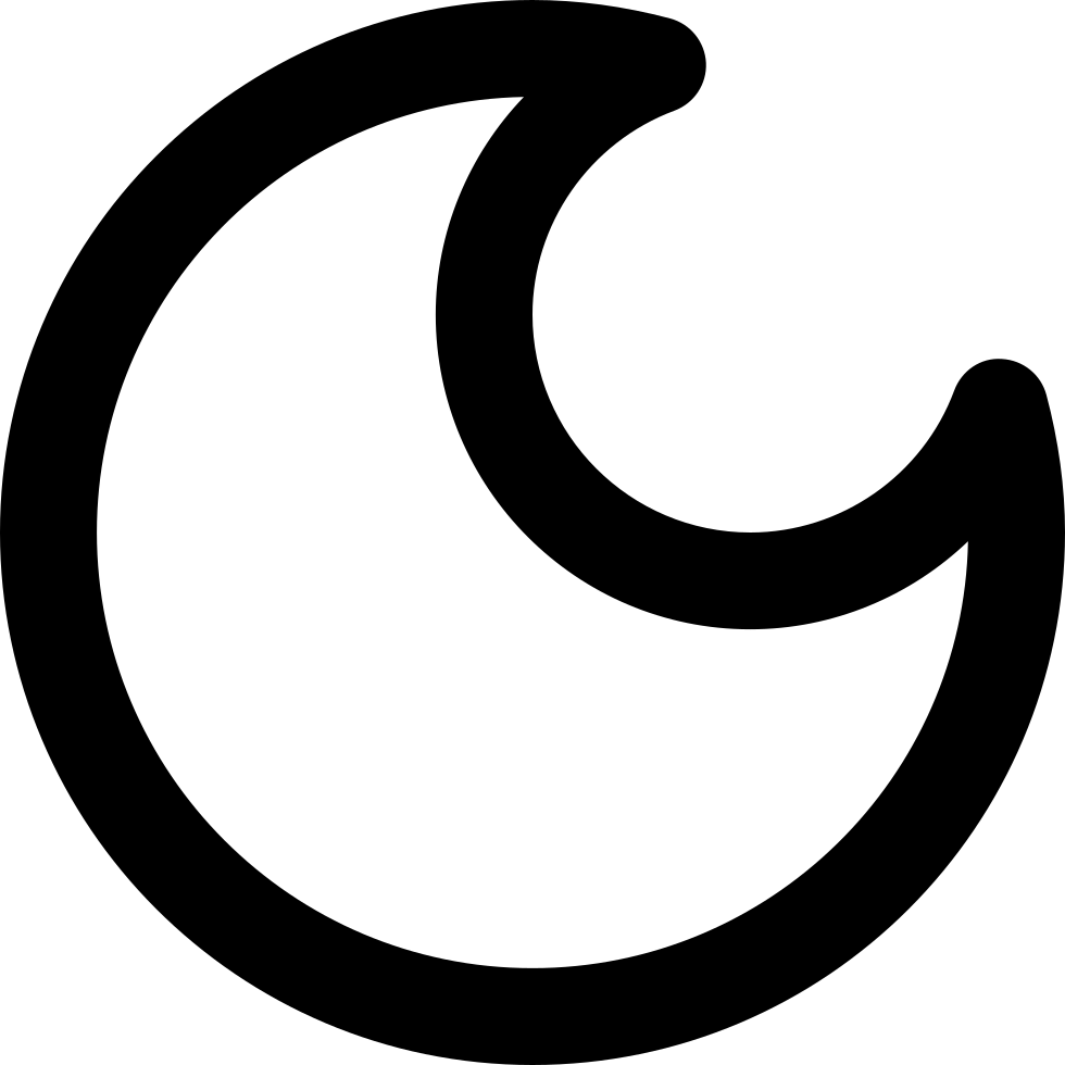Crescent Moon Phase Symbol Svg Png Icon Free Download 34308