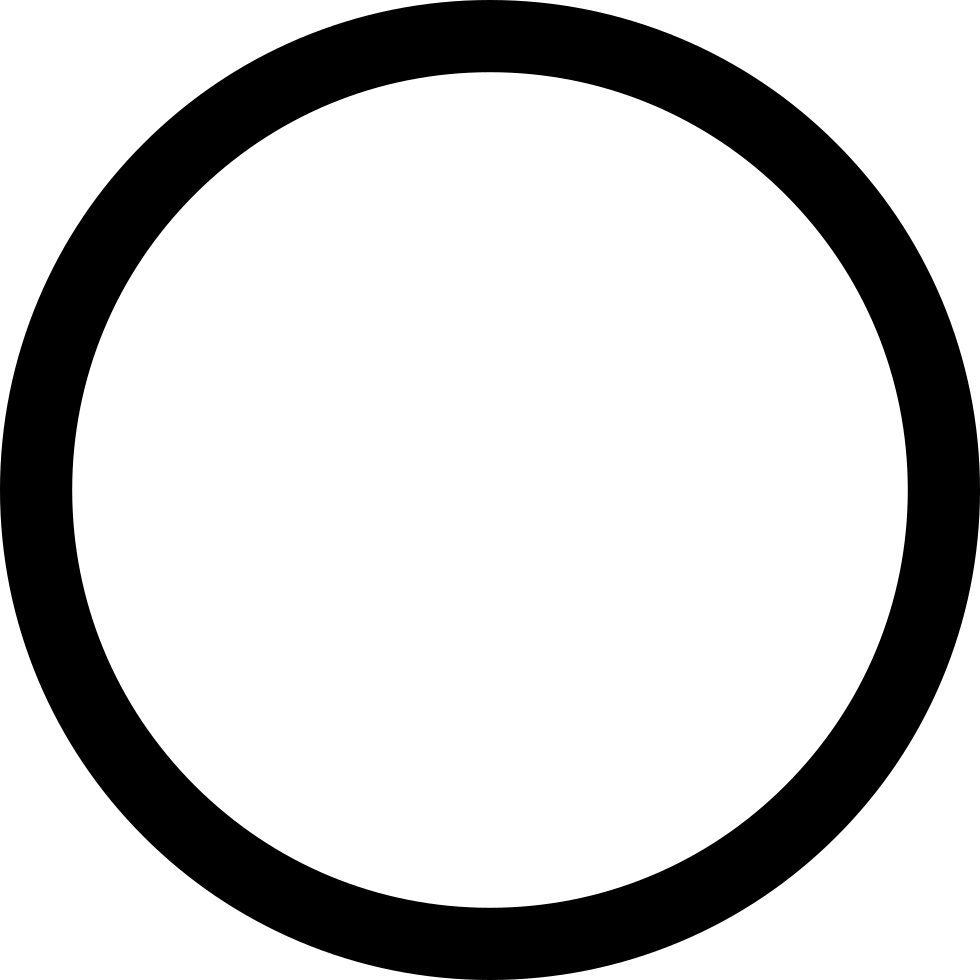 Circle Outline Svg Png Icon Free Download (#34467 ...