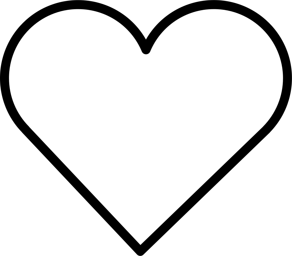 Heart Shape Svg Png Icon Free Download (#34963 ...