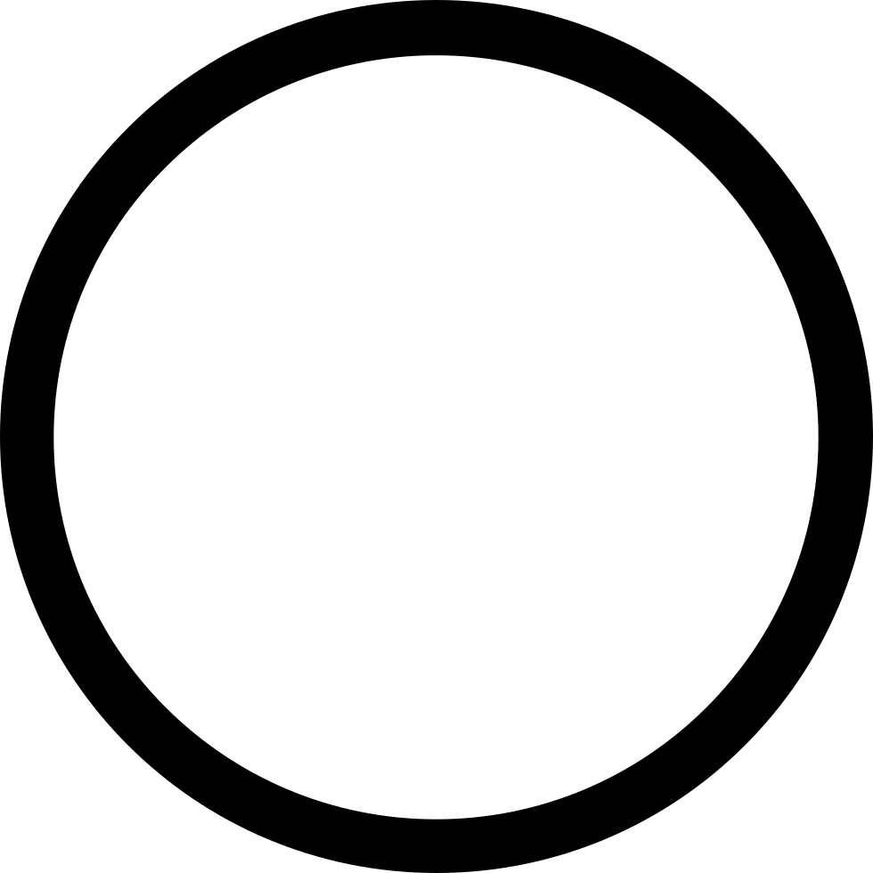 Circle Outline Svg Png Icon Free Download (#35054 ...
