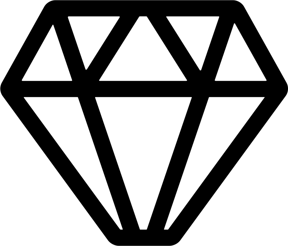 Geometrical Diamond Shape Svg Png Icon Free Download ...