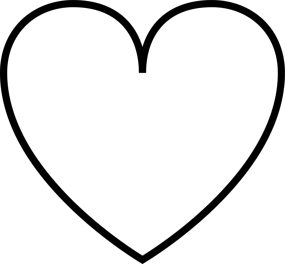 Heart Outline Svg Png Icon Free Download (#35255 ...