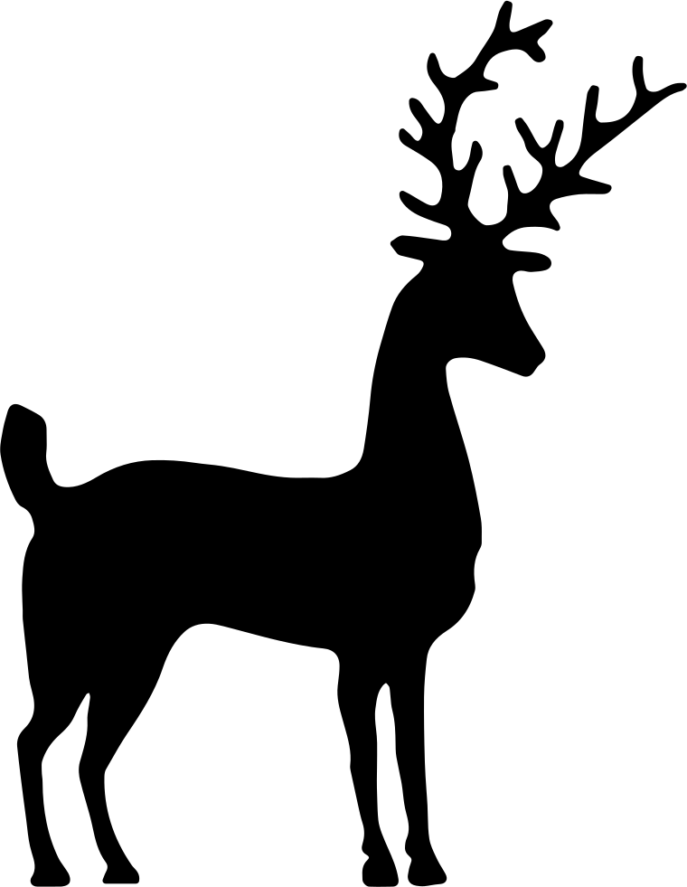Deer Silhouette Svg Png Icon Free Download 35261 Onlinewebfonts Com