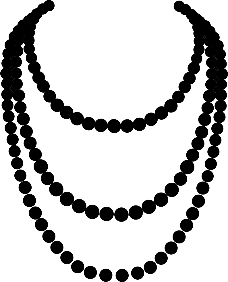 free png Necklace Clipart images transparent