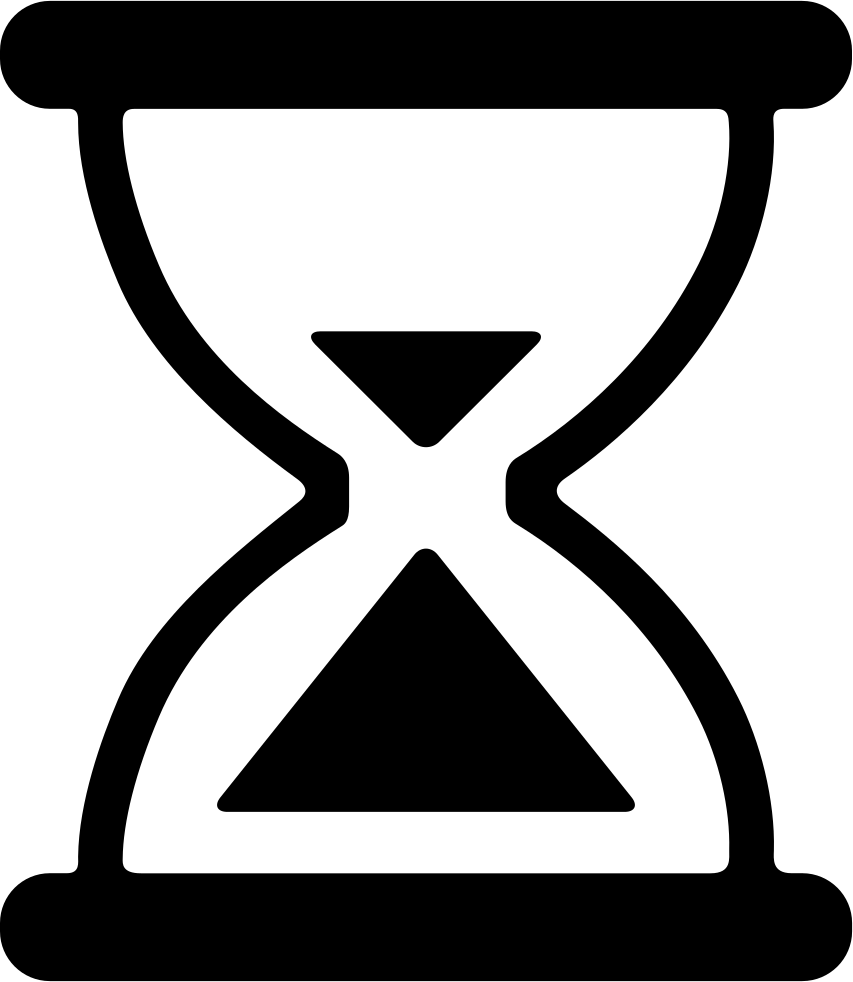 hourglass svg png icon free download 372423