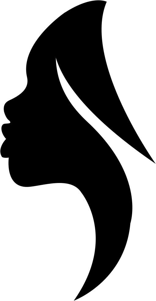 Side View Woman Silhouette Svg Png Icon Free Download